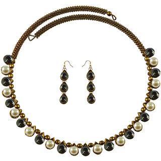 Vidhya Kangan Multicolor Necklace Set For Women-nec2113