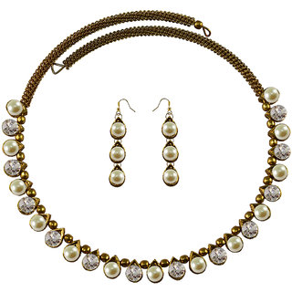 Vidhya Kangan Multicolor Necklace Set For Women-nec2115