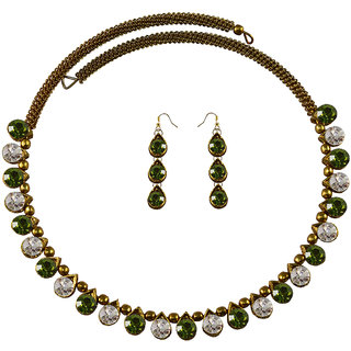 Vidhya Kangan Multicolor Necklace Set For Women-nec2125