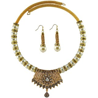 Vidhya Kangan Multicolor Necklace Set For Women-nec2378