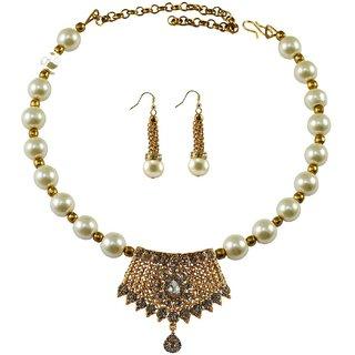 Vidhya Kangan Multicolor Necklace Set For Women-nec2379