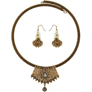 Vidhya Kangan Multicolor Necklace Set For Women-nec2386