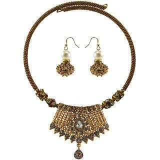 Vidhya Kangan Multicolor Necklace Set For Women-nec2387