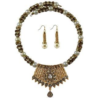 Vidhya Kangan Multicolor Necklace Set For Women-nec2388