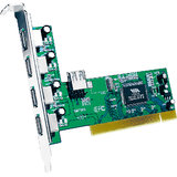 High-Speed USB 2.0 PCI To USB Card 4+1 USB Port