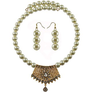 Vidhya Kangan Multicolor Necklace Set For Women-nec2389