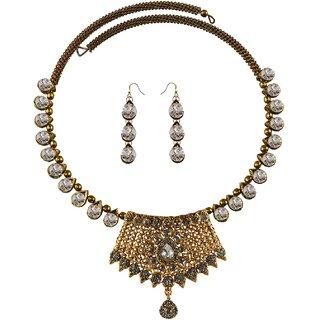 Vidhya Kangan Multicolor Necklace Set For Women-nec2390