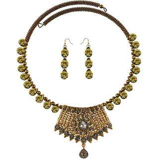 Vidhya Kangan Multicolor Necklace Set For Women-nec2395