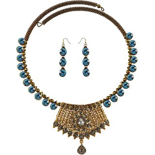 Vidhya Kangan Multicolor Necklace Set For Women-nec2398