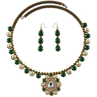 Vidhya Kangan Multicolor Necklace Set For Women-nec1930