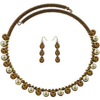 Vidhya Kangan Multicolor Necklace Set For Women-nec2091