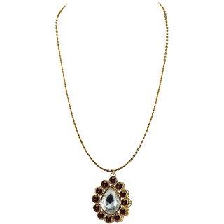 Vidhya Kangan Gold Necklace Set For Women-nec2209