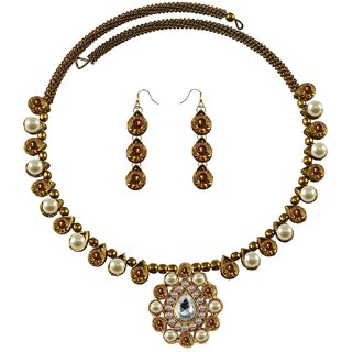 Vidhya Kangan Multicolor Necklace Set For Women-nec1934