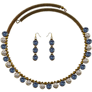 Vidhya Kangan Multicolor Necklace Set For Women-nec2094