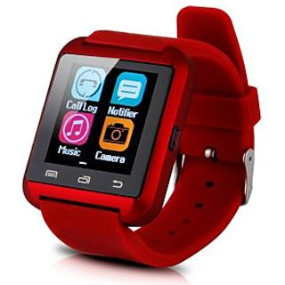 Jiyanshi Bluetooth Smart Watch with Apps like Facebook , Twitter , Whats app ,etc for Oppo Joy 3