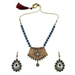 Vidhya Kangan Multicolor Necklace Set For Women-nec2565