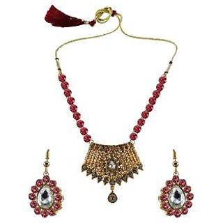 Vidhya Kangan Multicolor Necklace Set For Women-nec2567