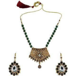 Vidhya Kangan Multicolor Necklace Set For Women-nec2569