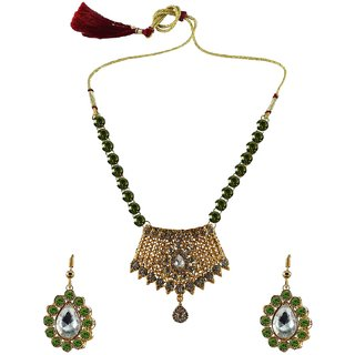 Vidhya Kangan Multicolor Necklace Set For Women-nec2570