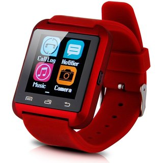 Jiyanshi Bluetooth Smart Watch with Apps like Facebook , Twitter , Whats app ,etc for iball Andi 4v