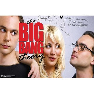 Hungover Sheldon Leonard And Penny The Big Bang Theory Special Paper Poster (12x18 inches)  Without Frame