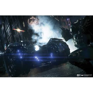 Hungover Batman Arkham Knight Artwork Special Paper Poster (12x18 inches)  Without Frame