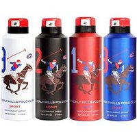 Beverly Hills Polo Club Deodorant Combo For Men - Sport (Set Of 4)