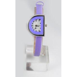 Fancy Womens Party Wear Leather Wrist Watch-lw0084