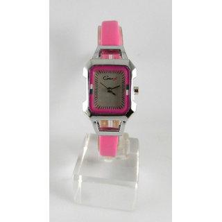 Fancy Womens Party Wear Leather Wrist Watch-lw0024