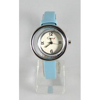 Fancy Womens Party Wear Leather Wrist Watch-lw0039
