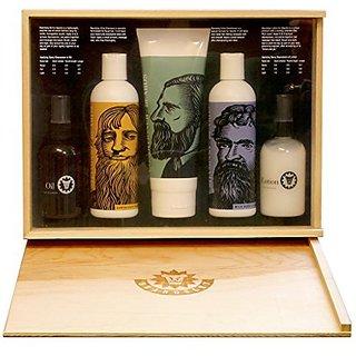 Beardsley In The Box Beard Care Gift Set - Full Size Beard Shampoo, Beard  Conditioner, Beard Lotion and Beard Oil