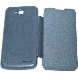 High Quality Flip Cover Battery Back Case For LG L90 D410