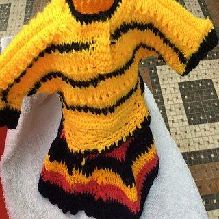 Anita creation Multicolor Multicolor Long Sleeve Sweaters Baby