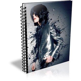 Michael Jackson A5 - Diary (Spiral Bound)
