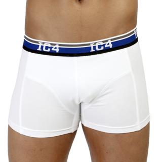 IC4 White Plain Trunks For Men