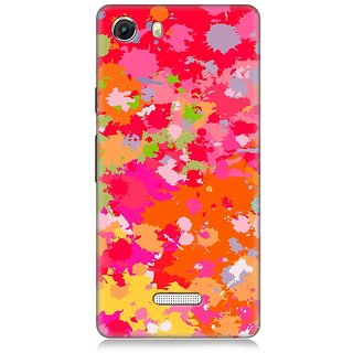 7Continentz Designer back cover for Micromax Unite 3 Q372