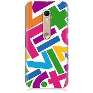 7Continentz Designer back cover for Motorola Moto X Style