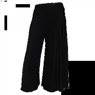 Fashionable Black Color Plazo
