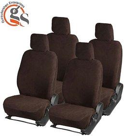 GS-Sweat Control Coffee Towel Split Car Seat Cover for Maruti Suzuki Wagon R Stringray