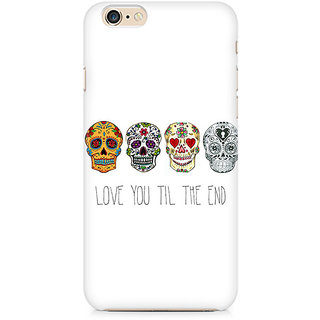 Zenith Love till the end Premium Printed Mobile cover For Apple iPhone 6/6s