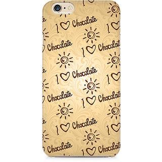 Zenith I love Chocolate Premium Printed Cover For Apple iPhone 6 Plus/6s Plus