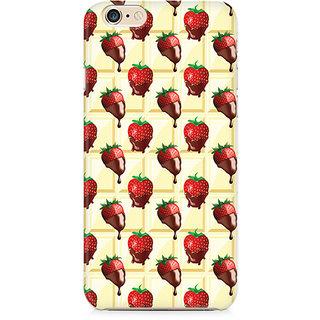 Zenith Strawberry Dip Premium Printed Cover For Apple iPhone 6 Plus/6s Plus