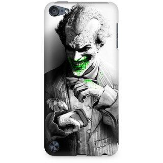 Zenith Arkham City Joker Premium Printed Mobile cover For Apple iPod Touch 5