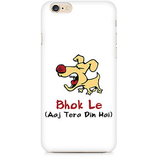 Zenith Bhok Le Tera Din Hai Premium Printed Mobile cover For Apple iPhone 6/6s