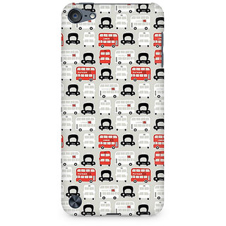 Zenith London Cab and Bus Premium Printed Mobile cover For Apple iPod Touch 5