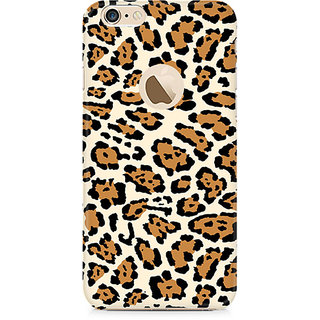 Zenith Leopard Print Premium Printed Mobile cover For Apple iPhone 6/6s with hole