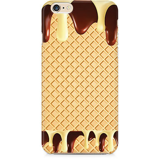 Zenith Dripping Chocolate Premium Printed Mobile cover For Apple iPhone 6/6s