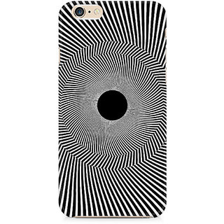 Zenith Black Hole Illusion Premium Printed Mobile cover For Apple iPhone 6/6s