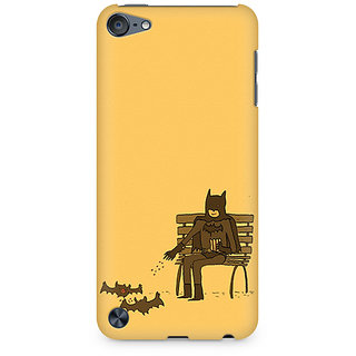 Zenith Minimalist Batman Feeding Bats Premium Printed Mobile cover For Apple iPod Touch 6