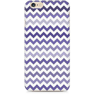 Zenith Purple Chevron Shades Premium Printed Cover For Apple iPhone 6 Plus/6s Plus